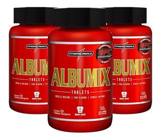 Kit 3 - Albumix 120 Tabletes Albumina Pura - Integralmedica
