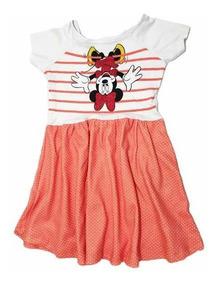 Combo Com 3 Vestidos Infantil Disney Original Em Promoção