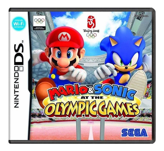 Mario E Sonic At The Olympic Games Ds Mídia Física