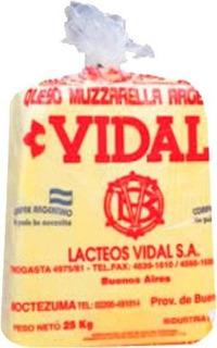 Muzzarella Vidal Por Kg