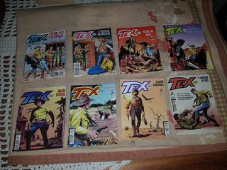 Lote Com 8 Revistas Tex