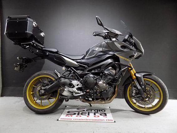 Yamaha Mt09 Tracer Gris 2015