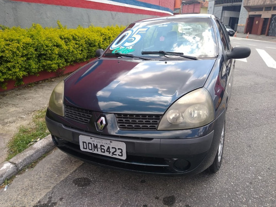 Renault Clio Sedan 2005 1.0 16v Authentique 4p