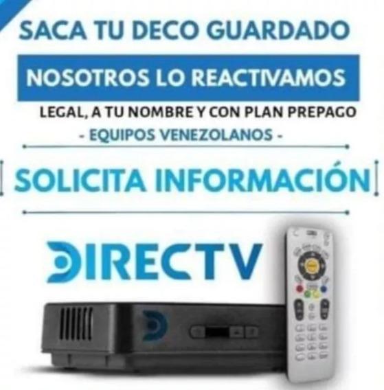 Activacion Decodificadores Directv (10vrds)