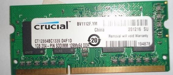 Memoria Ram Para Laptop Pc3 1gb