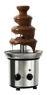 Fuente Cascada De Chocolate 4 Pisos - Barro Cocido