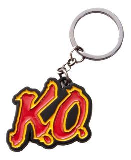 Llavero Ko Knockout Street Fighter Coleccionable Bioworld