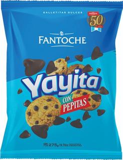 Galletitas Yayita Con Pepitas De Chocolate Fantoche 275gr