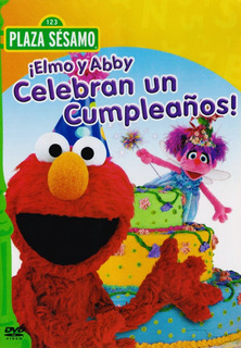 Plaza Sesamo Elmo Y Abby Celebran Un Cumpleaños Dvd