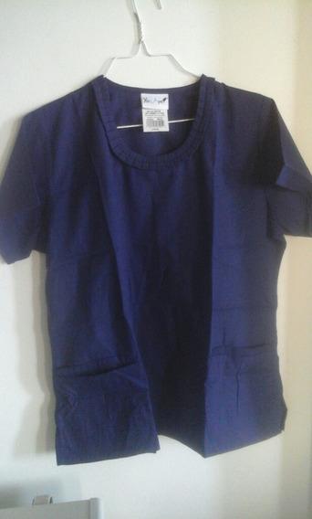 Uniforme Médico Para Damas Talla L Color Azul Marino