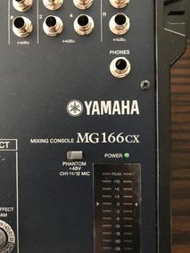 Yamaha Mg 166 Cx Mixer