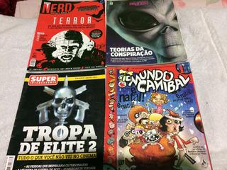 Revistas Mundo Estranho Nerd Canibal Super Interessante