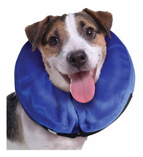 Collar Tipo Isabelino Inflable Perros Medium, Americano