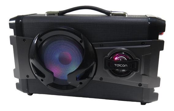 Caixa De Som Bluetooth Karaokê Amplificada Usb 200w Taicon