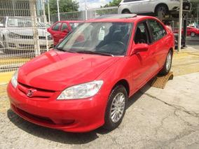 Honda Civic Rojo 2004
