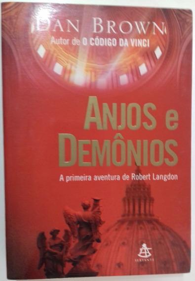 Anjos E Demônios - Dan Brown - Livro Físico