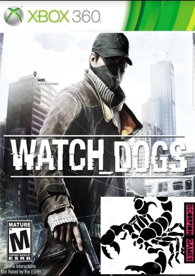 Watch Dogs-xbox 360-midia Digital