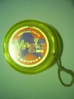 Yo-yo Dorado De Magic Kids Marca Bronco - Retro Vintage 1995