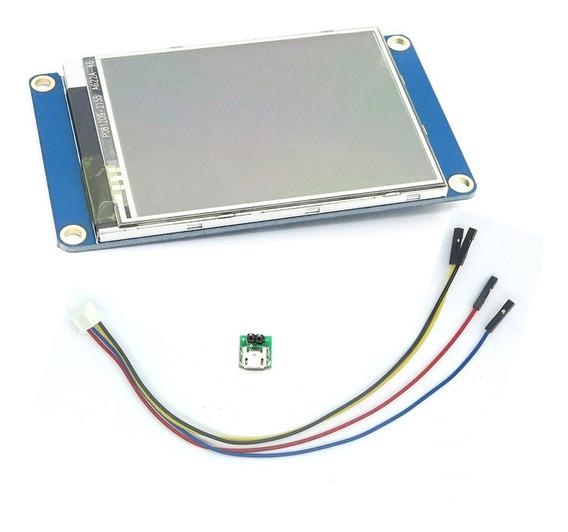 Tela Lcd Nextion 2.8 Ihm Led Touch Raspberry Pi 4 Arduino