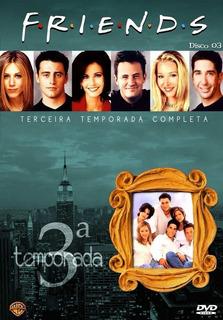 Friends 3ª Temporada - Box Com 4 Dvds - Lisa Kudrow