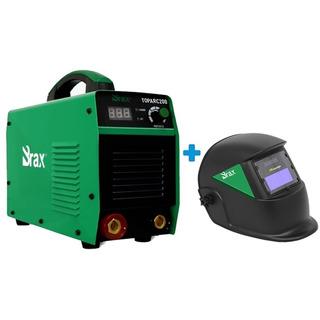Inversora Máquina De Solda Eletrodo / Tig 200 Amp + Máscara
