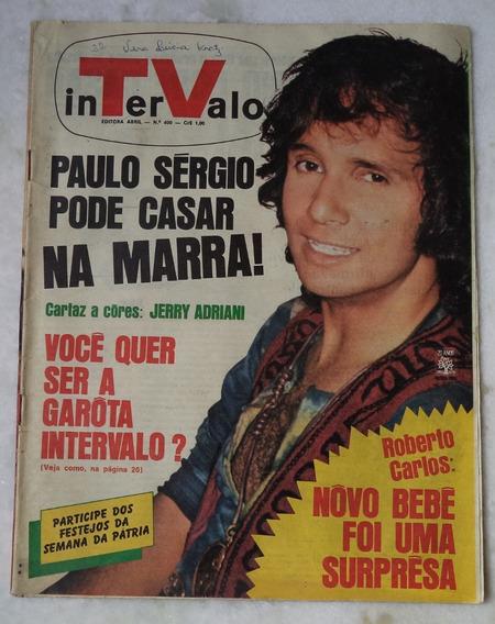 Revista Intervalo Nº 400 Roberto Carlos