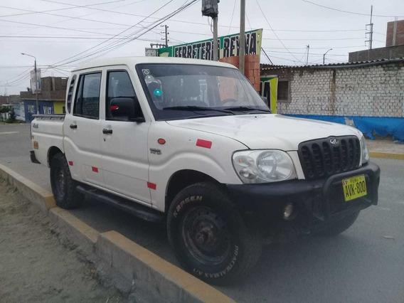 Mahindra Picap Doble Cabina 4x4 Por Perilla