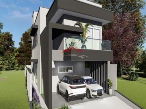 Imagem 1 de 9 de Casa A Venda No Condomínio Fechado Brisas Da Mata Em Jundiaí - Sp. - Ca00282 - 68731863