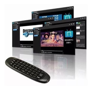 Teclado Inalambrico Fly Mouse Smart Tv Android Windows A1