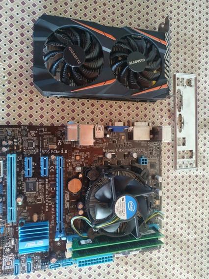 Kit Upgrade 1151 I5 3330 3º Geração + 8gb De Ram + Asus H61