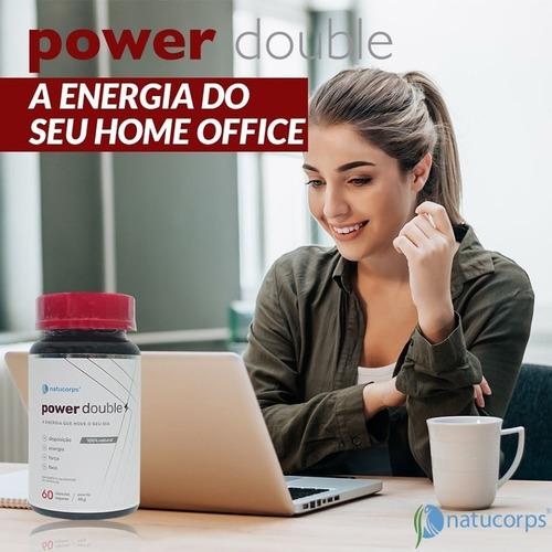 Suplemento Energizante Power Double Natucorps