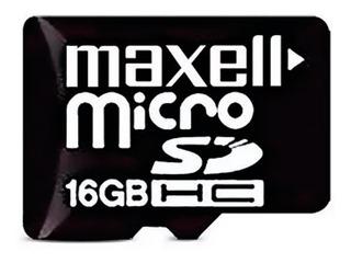 Memoria Micro Sd 16gb Maxell Clase 10 Celular Tablet Camaras