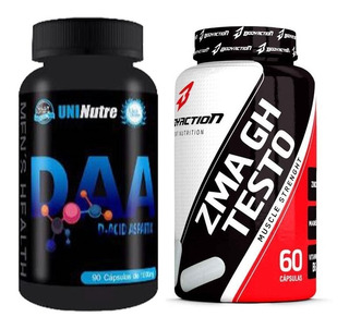 Mix Testosterona : Zma Gh + Acido Aspártico ( Daa ) Salvador