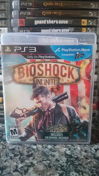 Bioshock Infinite Ps3 Midia Fisica-frete R$10