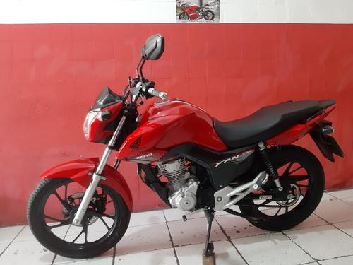 Honda  Cg 160 Fan Ano 2020 Vermelha