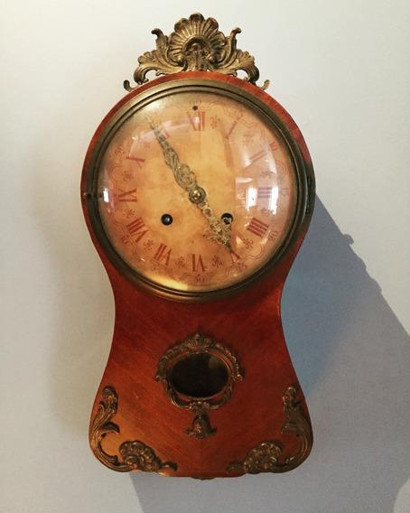 Relógio Pêndulo / Parede Antigo Funcionando - Exacta, Suécia