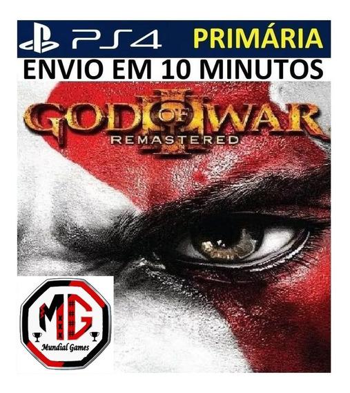 God Of War 3 Remastered Ps4 - Digital Original 1