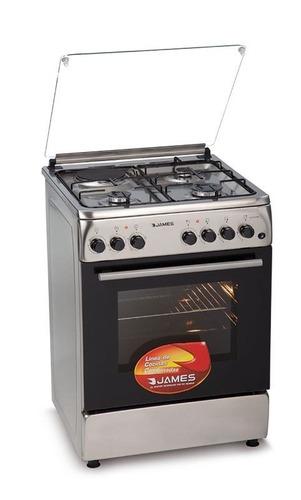 Cocina Combinada James C-221 Inox Grill+disco Kirkor