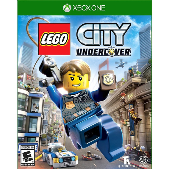 Lego City Undercover Xbox One Mídia Física Lacrado