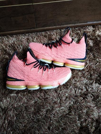 Tênis Nike Lebron James 15 Hollywood Basquete Pronta Entrega
