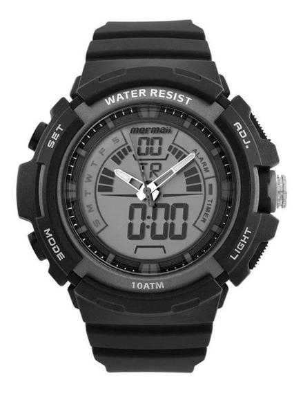 Relógio Mormaii Masculino Mod Moad08902/8c Original Com Nf