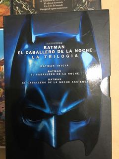 Batman El Caballero De La Noche Trilogía 3 Dvds