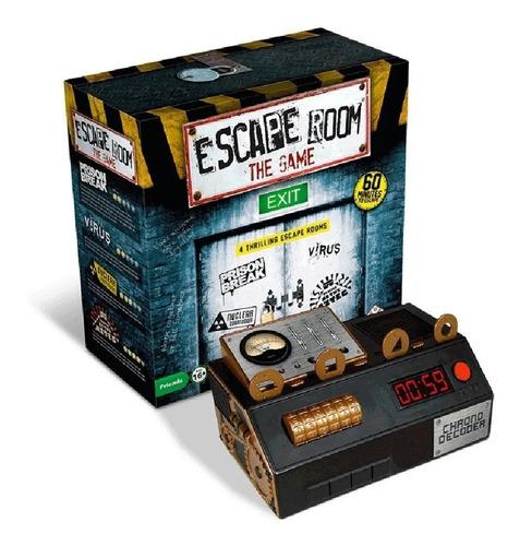 Imagen 1 de 10 de Juego De Mesa Sala Escape Room The Game Español Ingenio