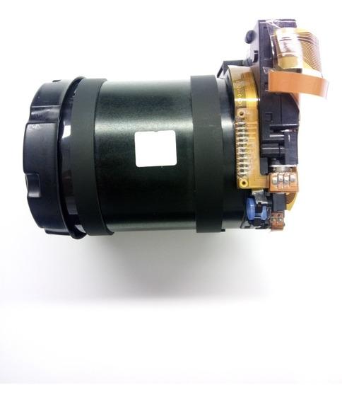 Conjunto Bloco Da Lente Câmera Sony Dsc H200 Novo