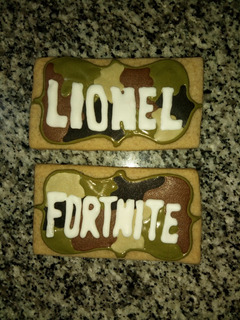 Galletitas Fortnite Decoradas Cajax12 Unid.