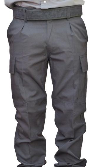 Pantalón Táctico Policía Ripstop Antidesgarro Azul O Negro