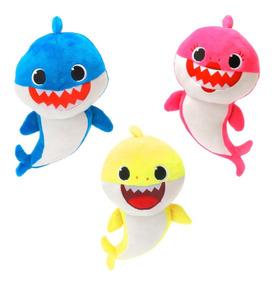 Pelúcia Musical Baby Shark Importado Fotos Reais Babyshark