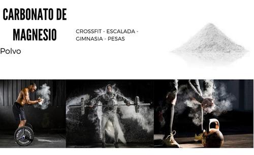 Magnesio - Crossfit - Escalada - Gimnasia - 250gr - Polvo
