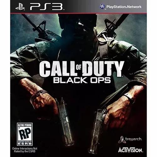 Call Of Duty Black Ops Ps3 Mídia Física