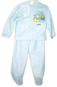 Mameluco Pijama Afelpada Niño Bebé 3-6 Meses I Love You Mom